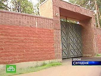"Въезд в ""Сосновку-1"", кадр НТВ"