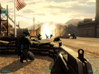 Скриншот Tom Clancy's Ghost Recon Advanced Warfighter 2