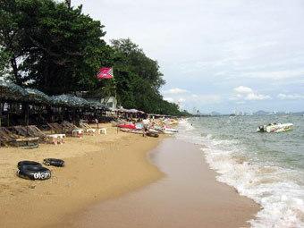 Пляж в Паттайе. Фото с сайта allresor.se