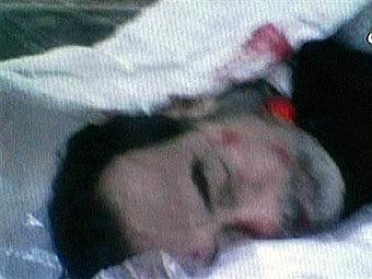 Кадр из видеосъемки казни Хусейна, фото AFP