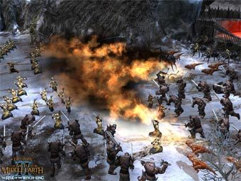 Скриншот Lord of the Rings: Battle For Middle Earth II - Rise of the Witch-King