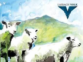 """Обложка диска Laibach """"Volk"""" с официального сайта группы"""