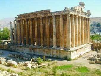 Античный пейзаж Ливана. Фото с сайта russbusinnes.org