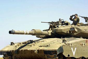 "Танк ""Меркава-3"". Фото с сайта waronline.org"