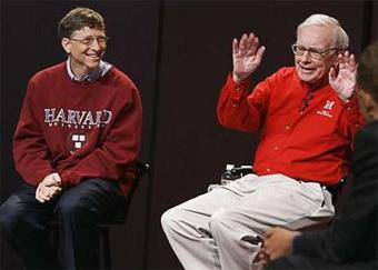 Уоррен Баффетт и Билл Гейтс, фото с сайта smh.com.au