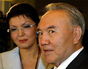 Нурсултан (справа) и Дарига Назарбаевы. Фото Reuters