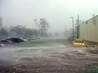 Новый Орлеан во время наводнения, фото с сайта af.mil