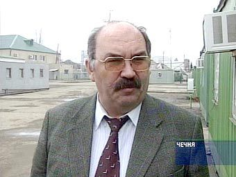 Секретарь Совета безопасности Чечни Рудник Дудаев. Кадр НТВ, архив