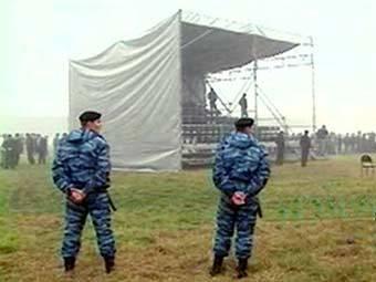 Место проведения фестиваля. Кадр НТВ