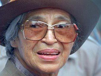 Роза Паркс, фото с сайта Госдепартамента США