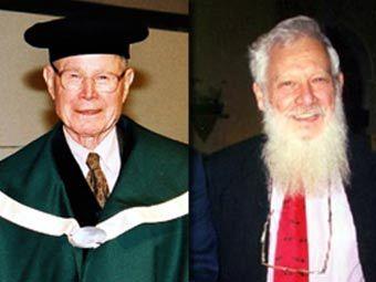 Томас Шеллинг и Роберт Ауманн, фото с wikipedia.org