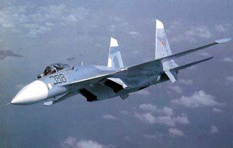 Су-27. Фото с сайта Airwar.ru