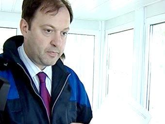 Олег Митволь инспектирует подмосковные яхт-клубы. Кадр НТВ
