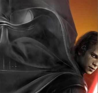 Фрагмент постера фильма ''Звездные войны. Месть Ситха''