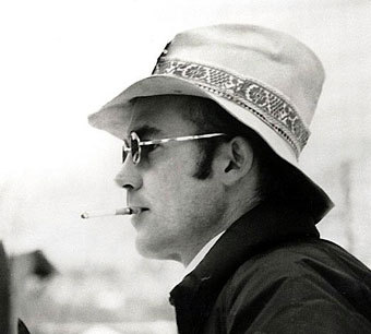 Хантер С.Томпсон, фото с сайта www.capitolabookcafe.com