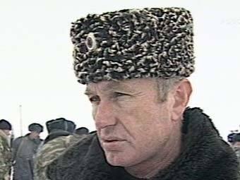 Заместитель министра внутренних дел Дагестана Магомед Омаров. Съемка НТВ, архив