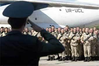 Военнослужащие украинского контингента. Фото Reuters