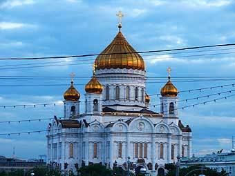 Храм Христа Спасителя. Фото Артура Рау, Лента.Ру