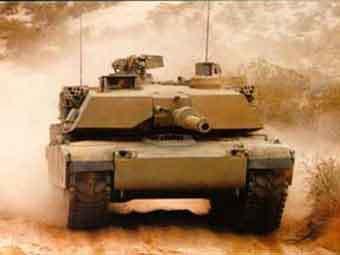"""Лидер рейтинга Forecast International американский танк """"Абрамс"""". Фото с сайта Globalsecurity.org"""