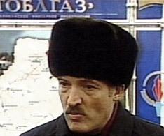 Александр Лукашенко. Кадр ТК ''НТВ'', архив