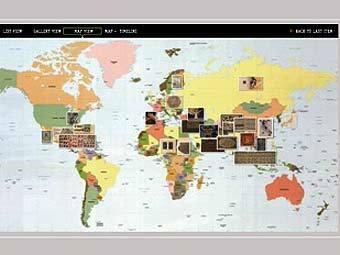 Кадр из видеопрезентации Всемирной цифровой библиотеки