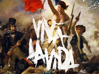"Фрагмент обложки ""Viva La Vida Or Death And All His Friends"". Изображение с сайта amazon.com"