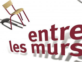 "Афиша спектакля ""Entre les murs"" с сайта theatre-contemporain.net"