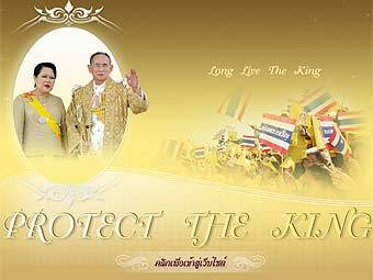 Скриншот сайта protecttheking.net