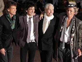The Rolling Stones. Фото (c)AFP