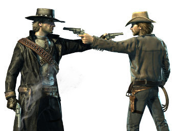 Арт к игре Call of Juarez: Bound in Blood