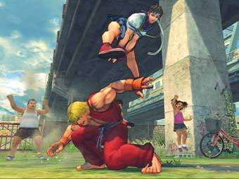 Скриншот Street Fighter IV