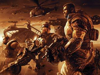 Арт к игре Gears of War 2