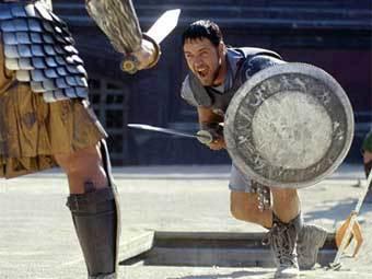 """Рассел Кроу в """"Гладиаторе"""". Кадр с сайта netfirms.com"""