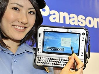 Panasonic Toughbook CF-U1. Фото AFP