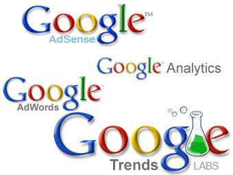 Google Adsense, Google Adwords, Google Analytics и Google Trends