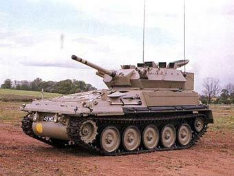 Бронемашина FV-101 Scorpion. Фото с сайта enemyforces.com