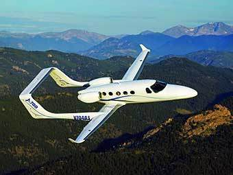 Самолет производства Adam Aircraft Industries. Фото с сайта businessjet.com
