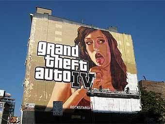 Биллборд GTA 4. Фото с сайта gamertagradio.com