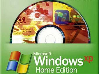 Коробка с Windows XP Home Edition. Фото с сайта ebay.com
