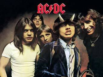 AC/DC на обложке альбома Highway to Hell