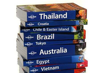 Путеводители Lonely Planet. Фото с сайта travelcounsellors.co.uk