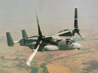 Конвертоплан V-22 Osprey. Фото с сайта geocities.com