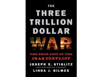 Обложка книги The Three Trillion Dollar War, с сайта amazon.com