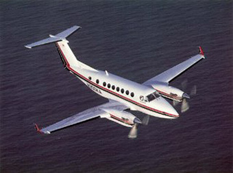 Самолет King Air 350E. Фото с официального сайта компании Hawker Beechcraft