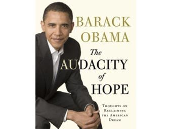 Обложка The Audacity Of Hope: Thoughts on Reclaiming the American Dream