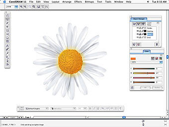 Скриншот CorelDRAW Graphics Suite