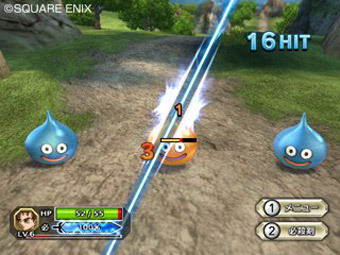 Скриншот Dragon Quest Swords: The Masked Queen and the Tower of Mirrors