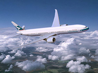 Boeing 777 авиакомпании Cathay Pacific Airways. Иллюстрация с сайта boeing.com