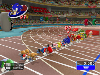 Скриншот Mario & Sonic at the Olympic