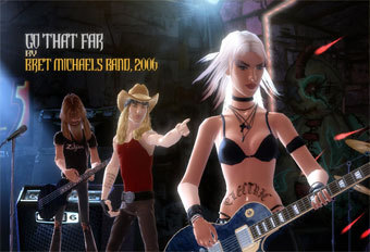Скриншот Guitar Hero 3: Legend of Rock